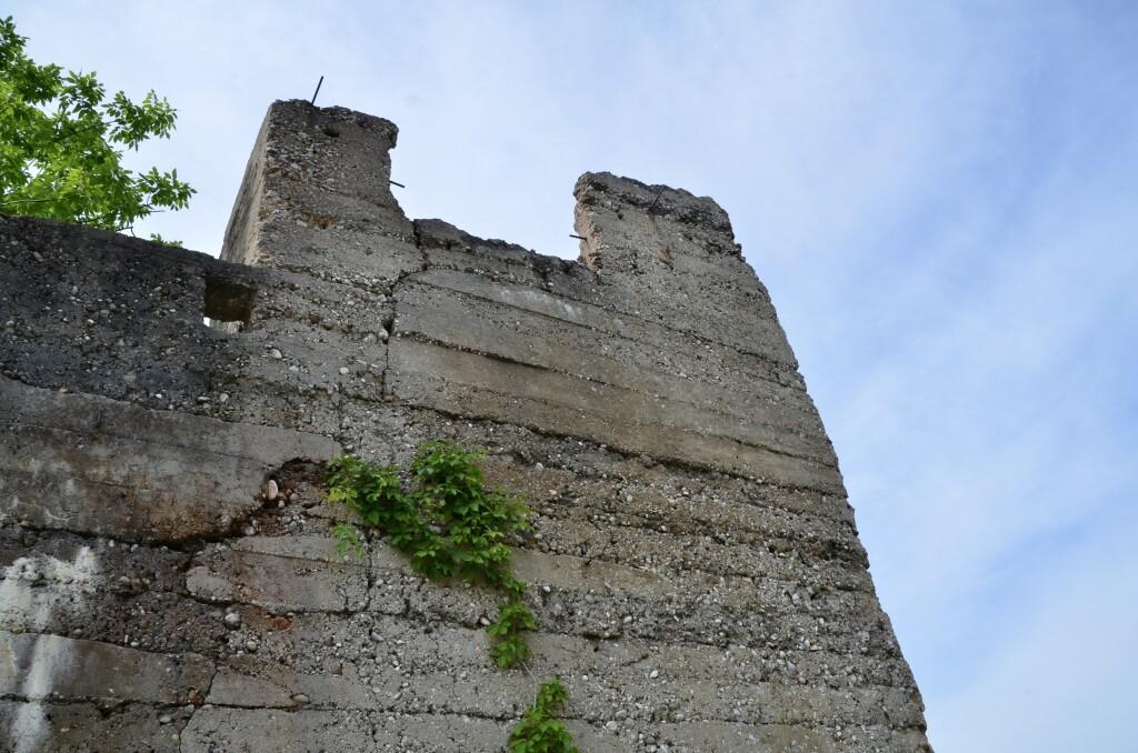 Awakon Park Factory Ruins Sky Onaway Michigan