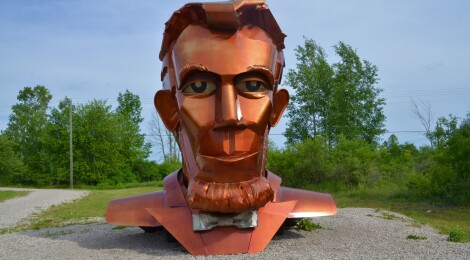Awakon Park in Onaway is a Sculpture Park That's Worth the Detour