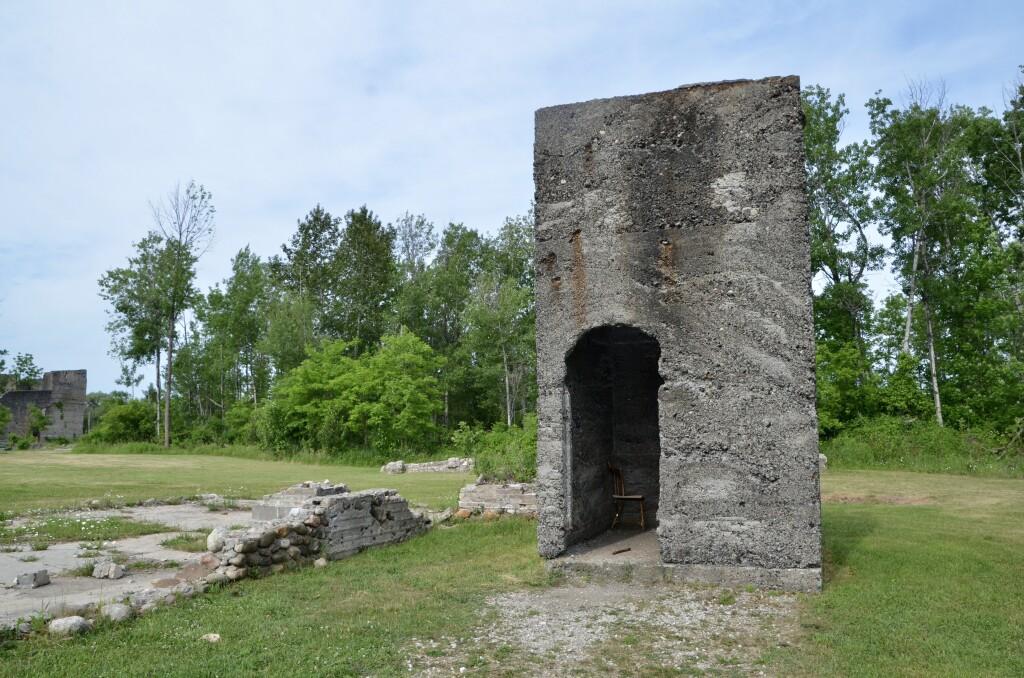 Awakon Park Onaway Michigan Ruins Old Factory