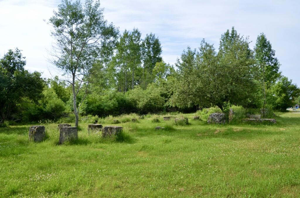 Awakon Park Onaway Michigan Sawmill and Sawdust Kiln Ruins