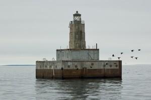 Lansing Shoal Lighthouse 2021 Michigan Sheplers Cruise
