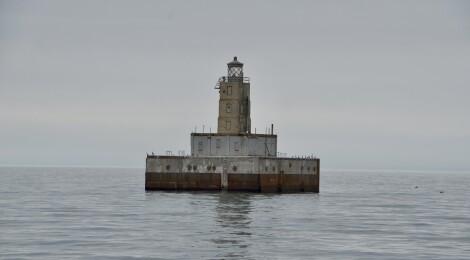 Lansing Shoal Lighthouse, Lake Michigan