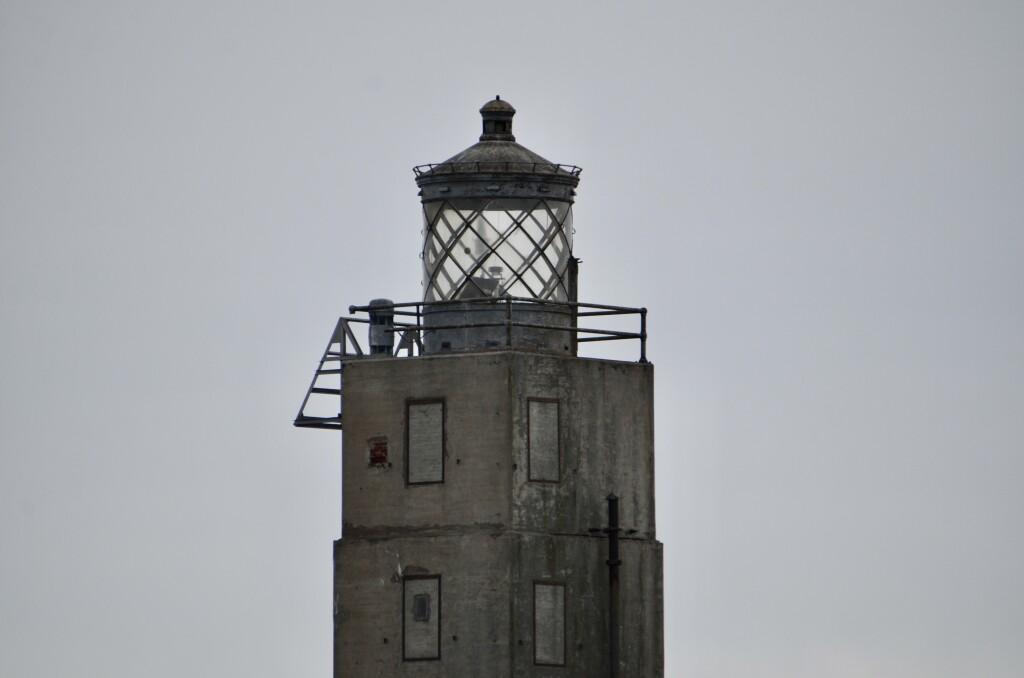 Lansing Shoal Lighthouse Lantern Room Lake Michigan