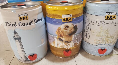 2021 Bells Mini Kegs: Drink Delicious Beer and Help Out Four Great Causes
