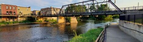 Visit 4 Historic Bridges in Portland, Michigan