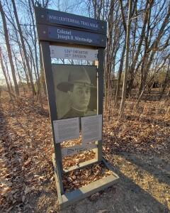 Celery Flats World War I Trail Portage Joseph Westnedge