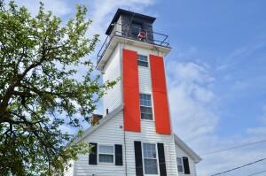 Cheboygan River Front Range Lighthouse Tours Michigan