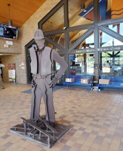 Clare Michigan Welcome Center Inside Building