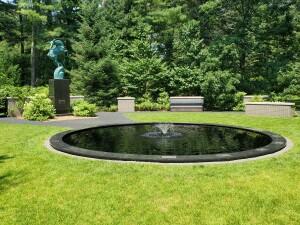 Dow Gardens Midland MI Marshall Fredericks Gazelle Sculpture