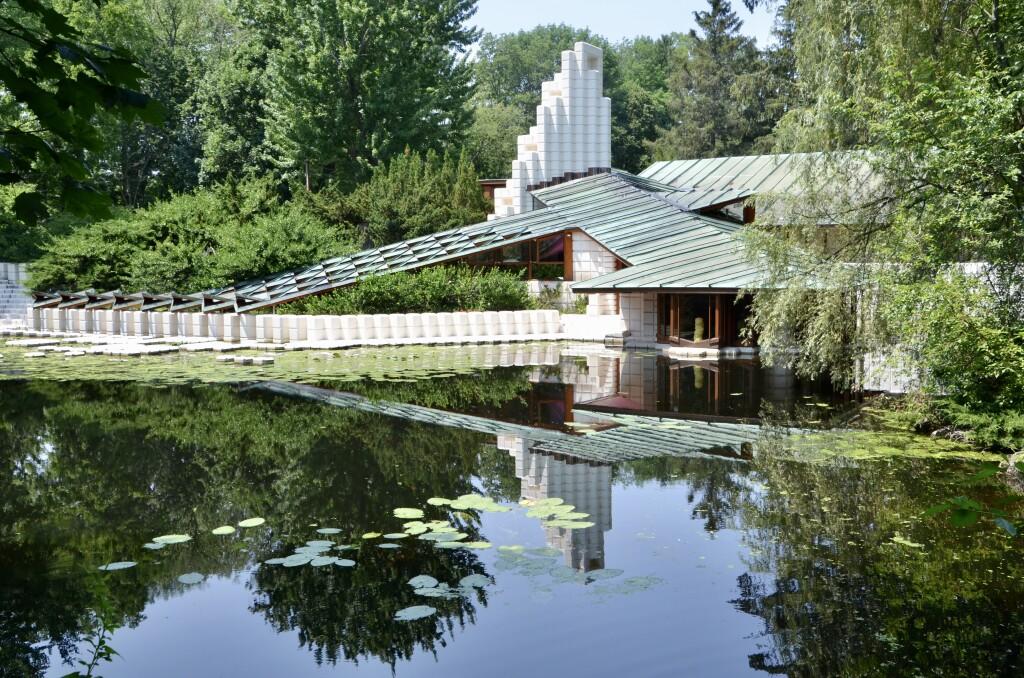 Dow Gardens Midland Michigan Dow Home Reflection