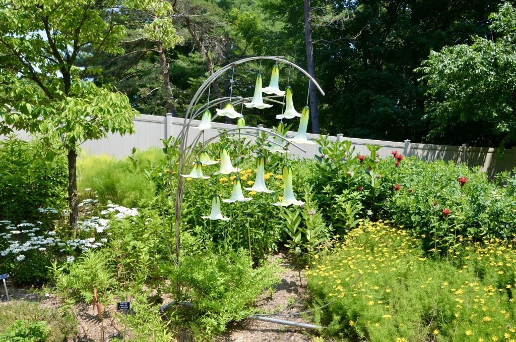 Dow Gardens Midland Michigan Flower Bells