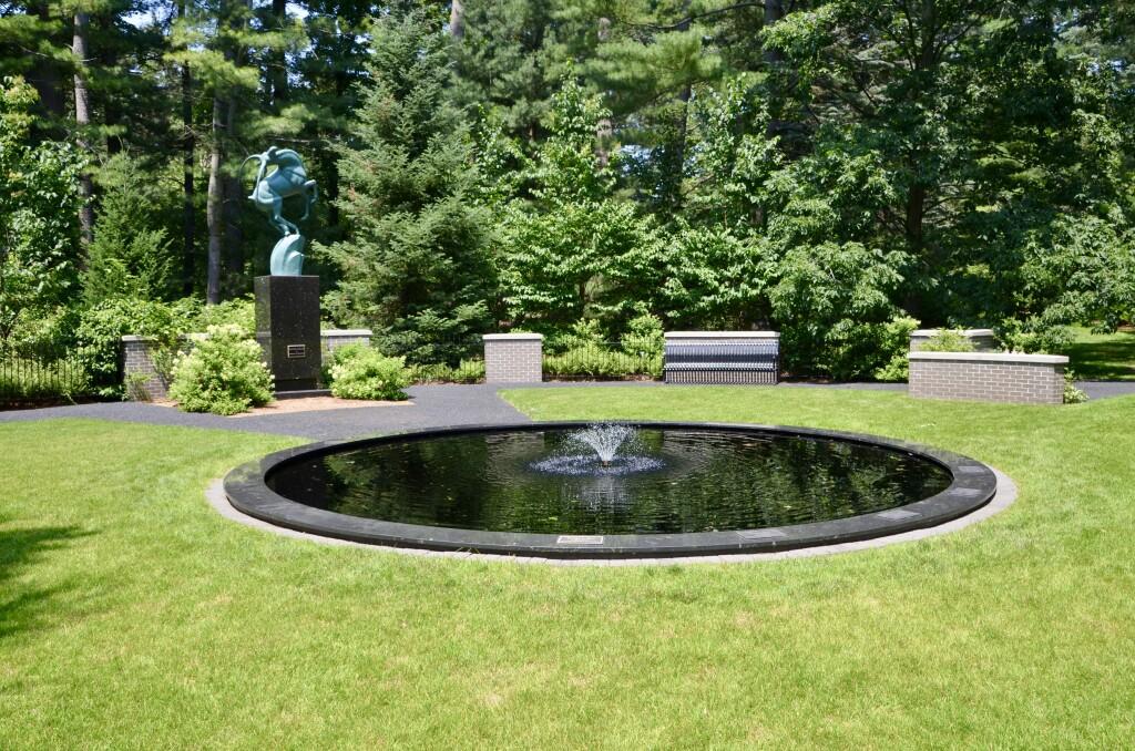 Dow Gardens Midland Michigan Gazelle Sculpture