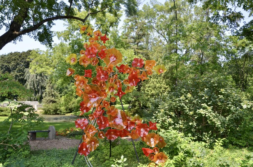 Dow Gardens Midland Michigan Glass Art Sculpture