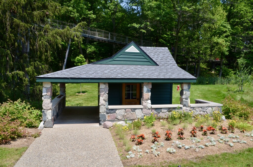 Dow Gardens Midland Michigan Pump House Whiting Forest