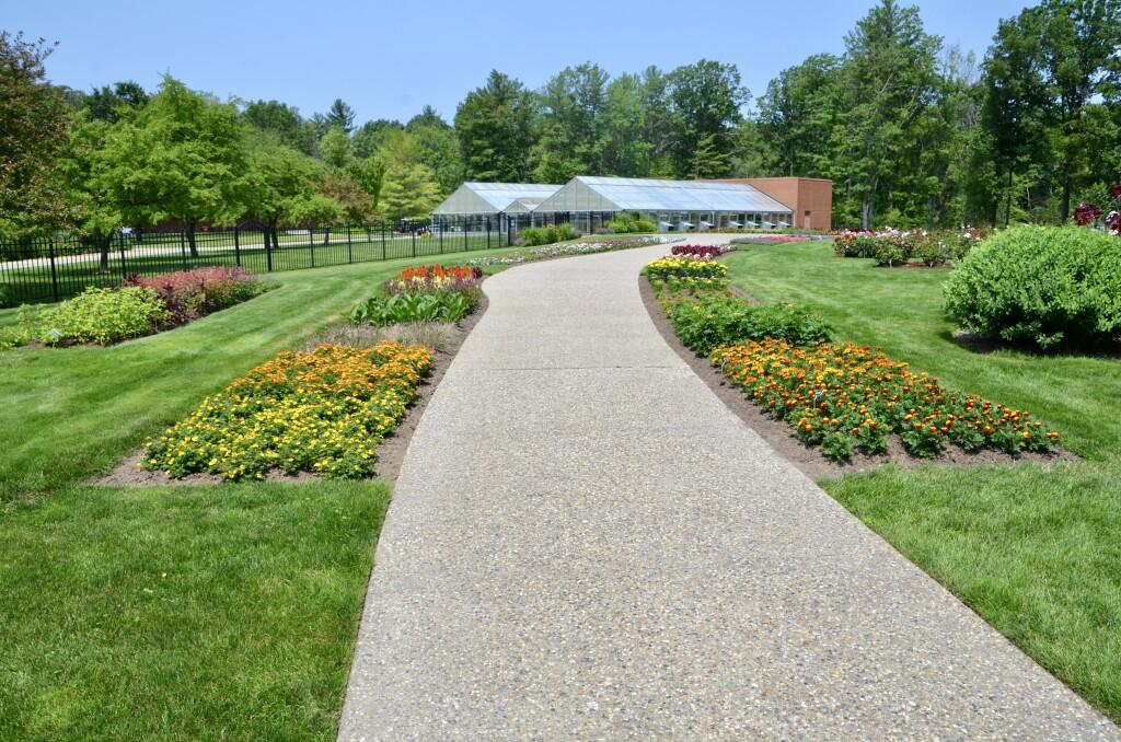 Dow Gardens Midland Michigan Rose Garden