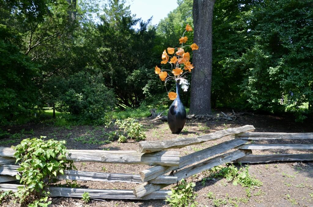 Dow Gardens Midland Michigan Sculpture Art Flowers
