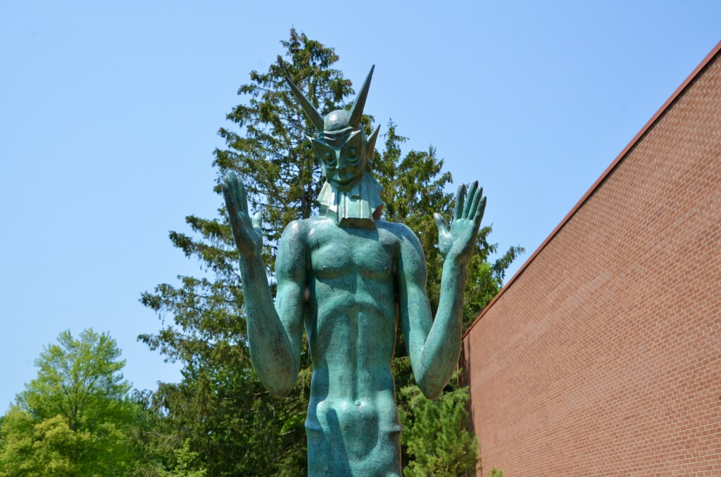 Dow Gardens Midland Michigan Statue Close Up