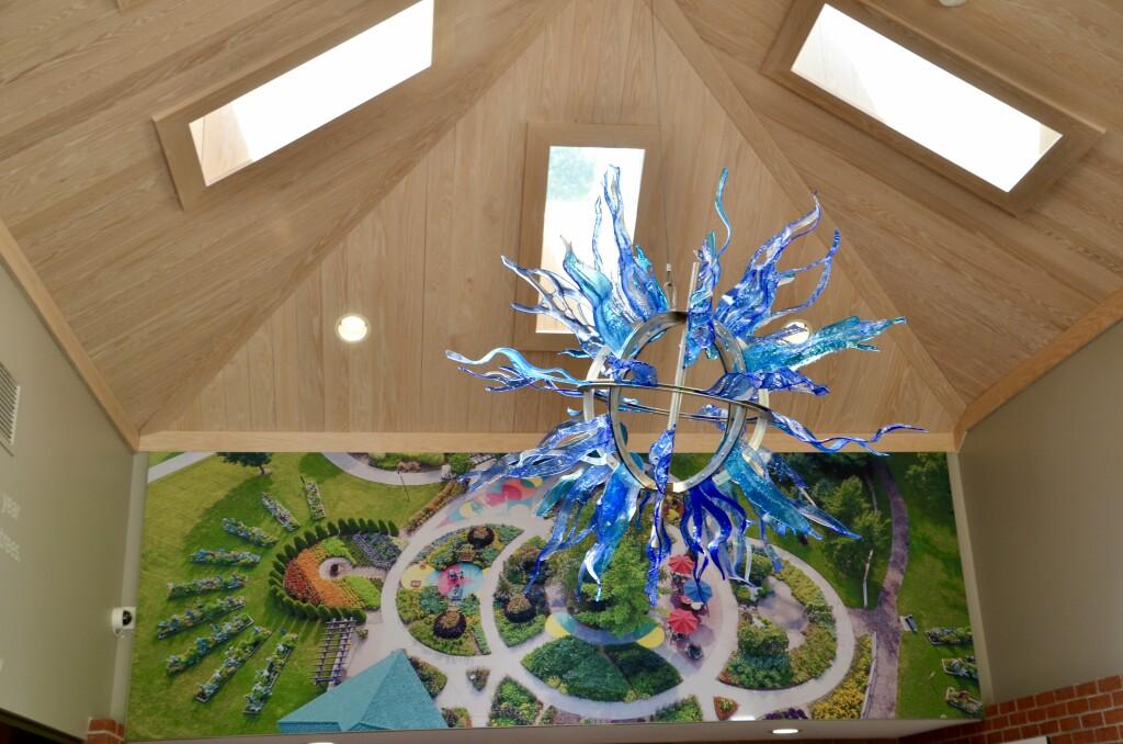 Dow Gardens Midland Michigan Visitor Center Hallway