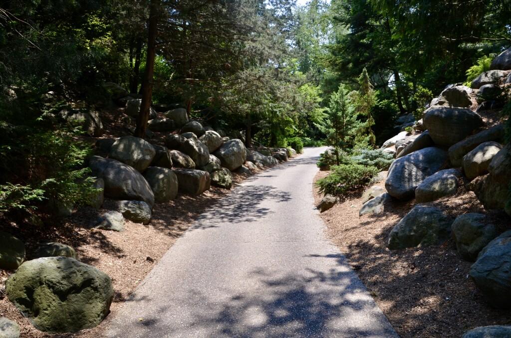 Dow Gardens Midland Michigan Walking Path