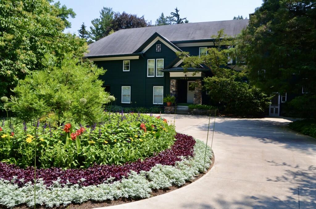Dow Gardens Pines Dow Home Midland MI