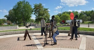 Michigan Welcome Center Clare Transportation Employees Memorial
