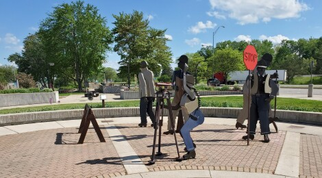 Michigan Roadside Attractions: The US-127 Michigan Welcome Center in Clare Might Be the Coolest Rest Area in the State