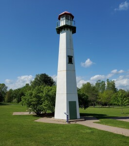 Michigan Welcome Center Lighthouse US127 Clare