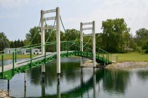 Mini Mac Bridge Mackinac Replica Michigan Roadside Atractions