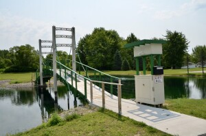 Mini Mac Bridge St Louis Michigan