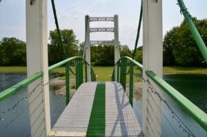 Mini Mac Bridge St Louis Michigan Grate