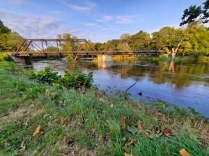 Portland Railroad Bridge Historic Michigan