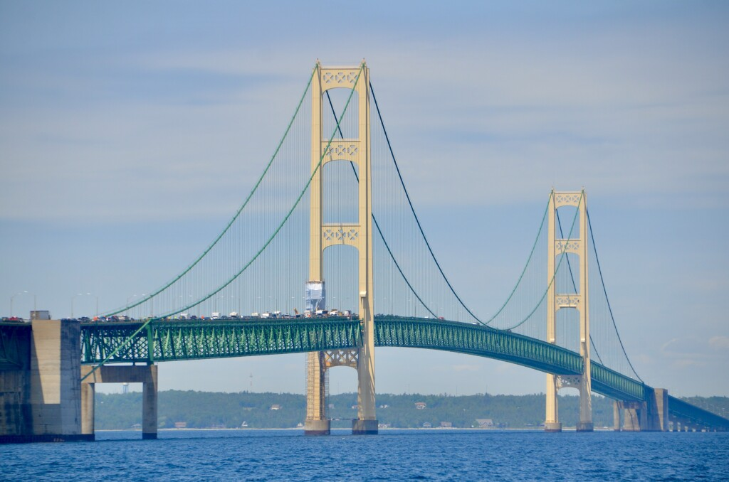 Sheplers Lighthouse Cruise 2021 Mackinac Bridge 1