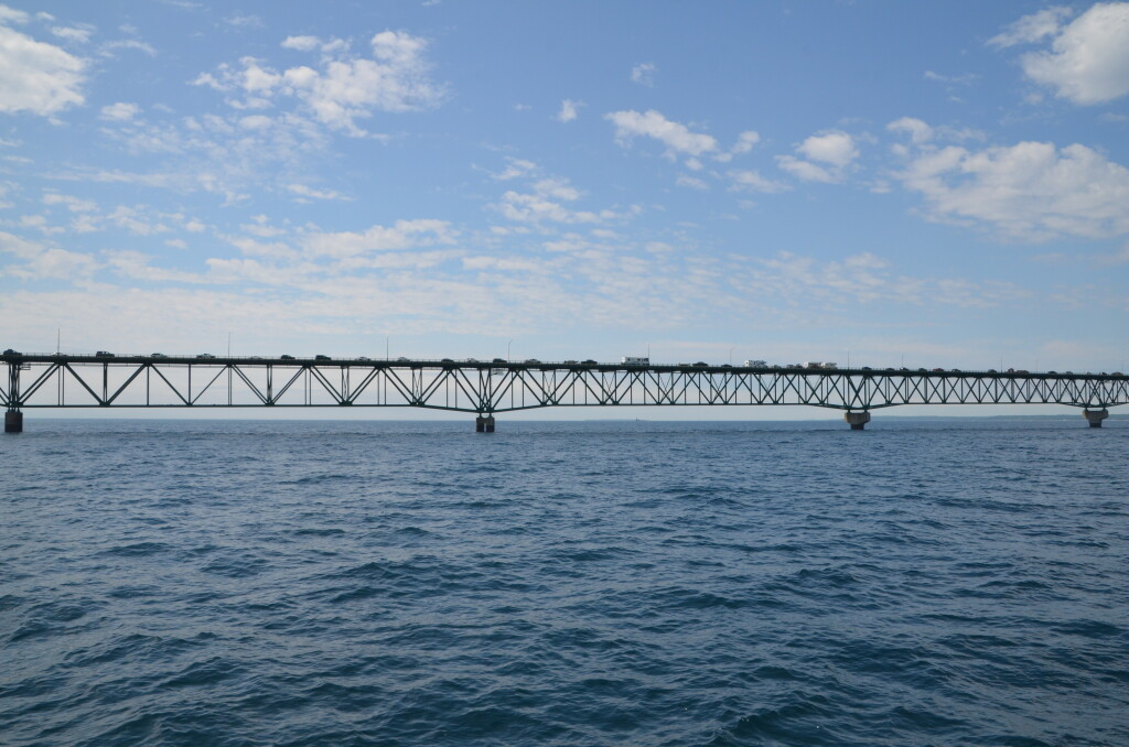 Sheplers Lighthouse Cruise Michigan Mackinac Bridge