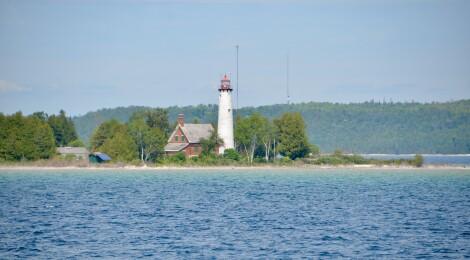 St. Helena Island Lighthouse, Lake Michigan