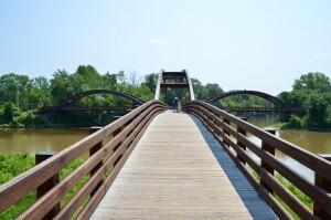 The Tridge Midland Michigan Unique Bridge
