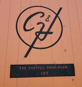 Calumet and Hecla Logo Russell Snowplow
