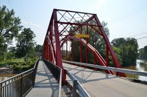 Currie Parkway Bridge Midland Michigan East