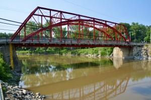 Currie Parkway Bridge Midland Michigan Feature Photo