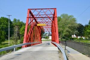Currie Parkway Bridge Midland Michigan West