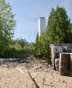 Grand Island Front Range Tower Lake Superior Michigan