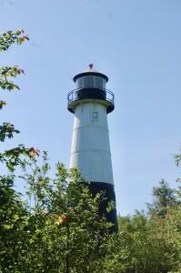 Grand Island Rear Range Light Tower