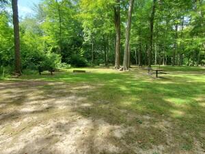 Spring Grove Park Grandville Michigan Horseshoe Pits
