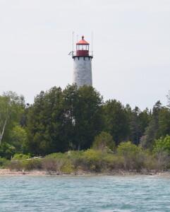 St. Helena Island Lighthouse Tower Michigan