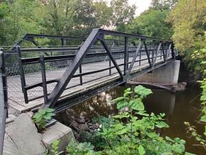 Burroughs Street Bridge Portland Riverwalk Michigan