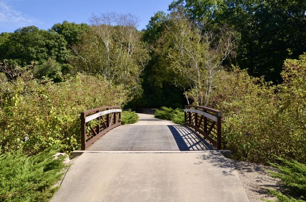 Kellogg Bird Sanctuary Augusta Michigan Lagoon Bridge