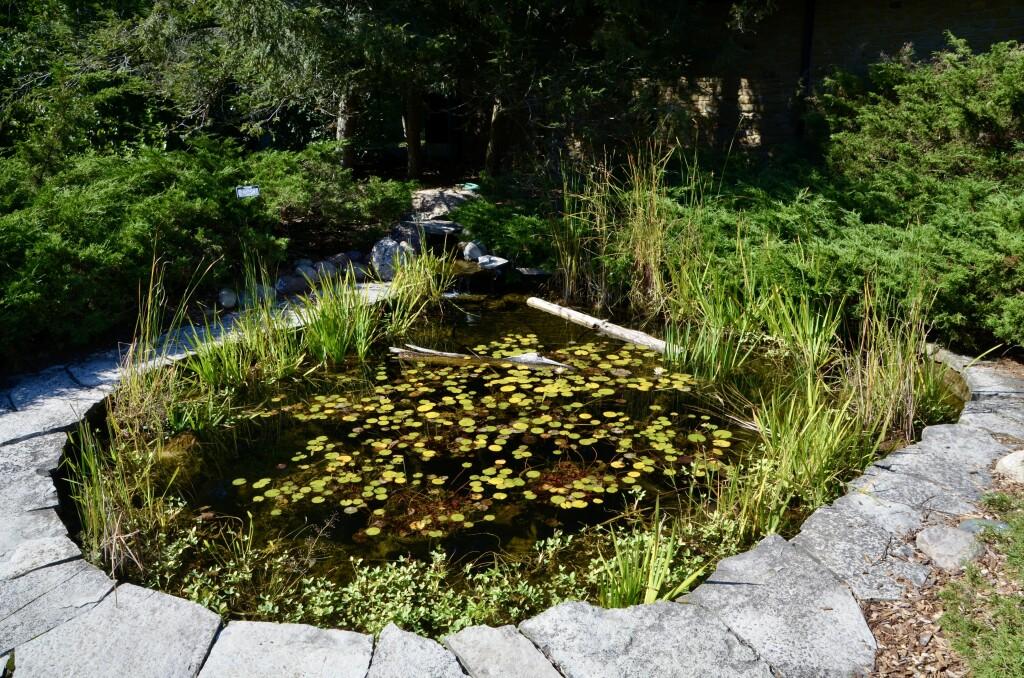 Kellogg Bird Sanctuary Light Memorial Garden