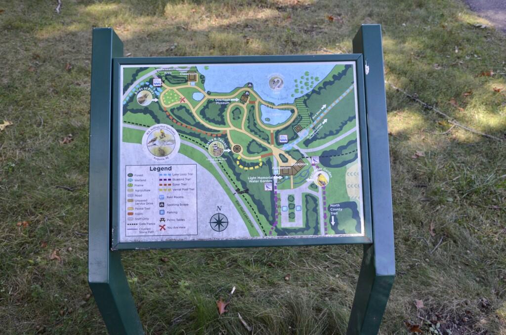 Kellogg Bird Sanctuary Park Map Michigan