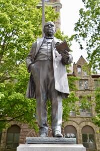William McKinley Muskegon Michigan Statue