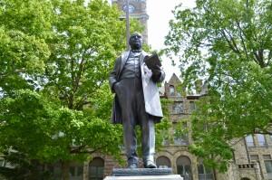 William McKinley Statue Muskegon Michigan 1902