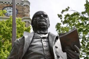 William McKinley Statue Muskegon Michigan Close Up